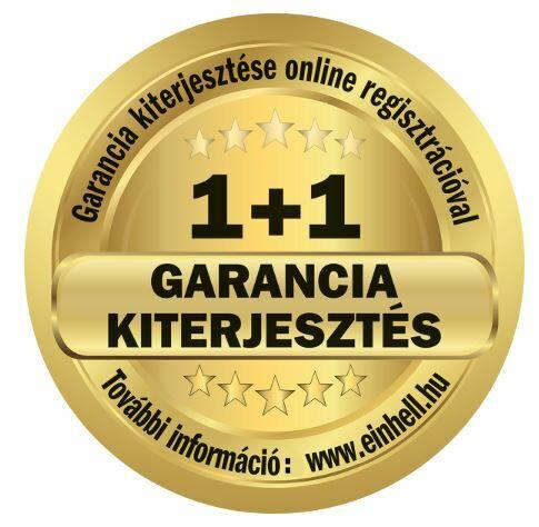 Einhell Garancia 1+1 év