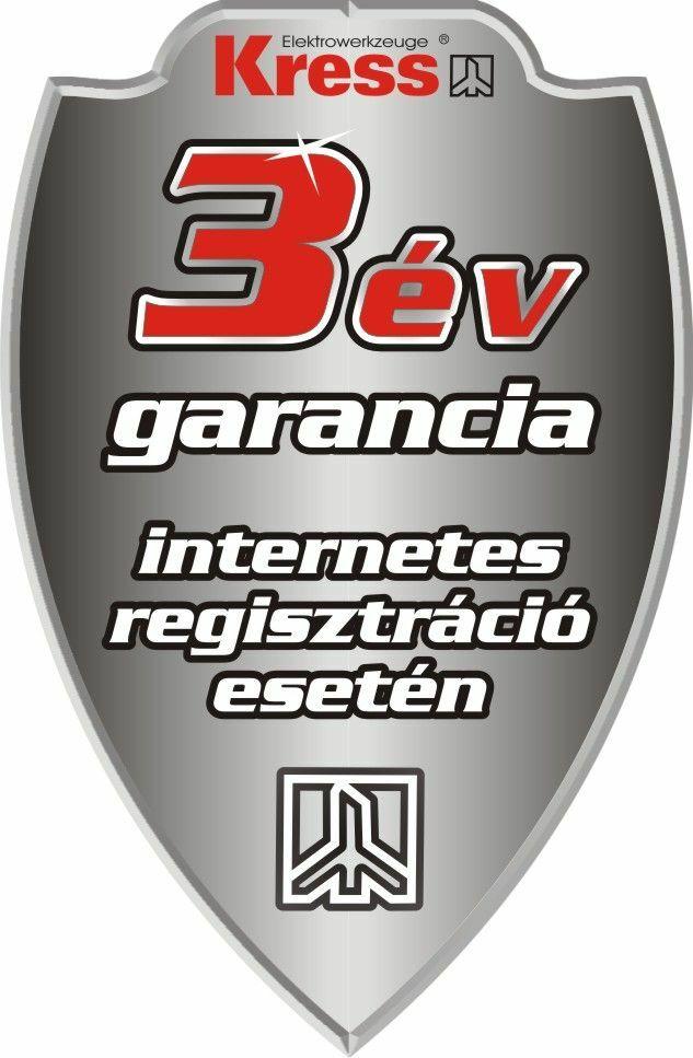 Garancia - Kress garancia - 3 év garancia