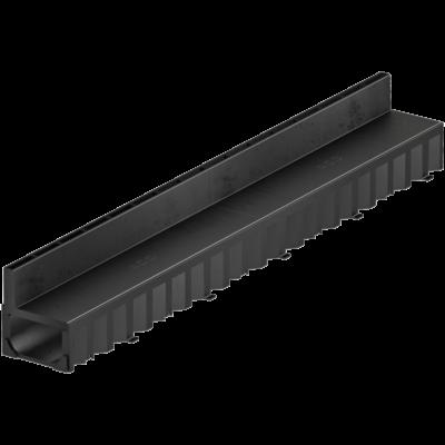 HEXALINE folyóka műanyag réskerettel 100cm, fekete