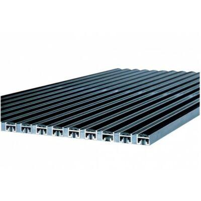 Vario alumínium rács gumi betéttel, 60x40