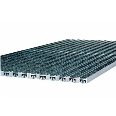 Vario alumínium rács műrost betéttel 100x50, antracit