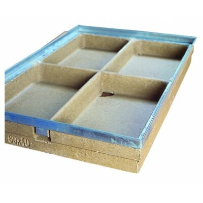 Vario lábtörlő tálca, 60x40 cm