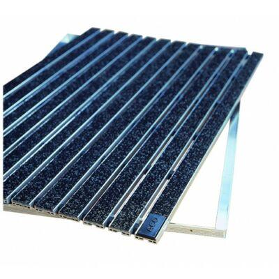 Self lábtörlő alumínium keret, műrost betéttel, 75x50, antracit