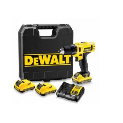 DeWALT 10,8 V-OS, XR Li-Ion COMPACT FÚRÓ-CSAVAROZÓ DCD710D3-QW