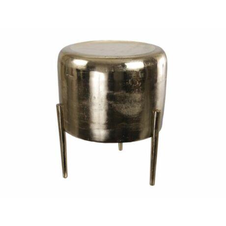 Szék kerek aluminium 35x45cm arany @