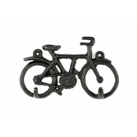Falra szerelhető kulcstartó, kerékpár
