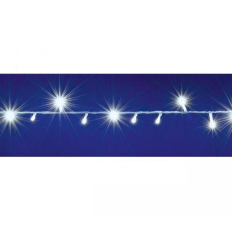 LED-es izzósor, 2 m / 40 LED, sorolható, hidegfehér