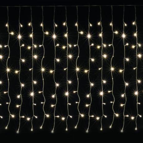 LED-es fényfüggöny, 3m, 8 prg kültéri