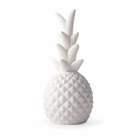 Lámpa, porcelán, ananász
