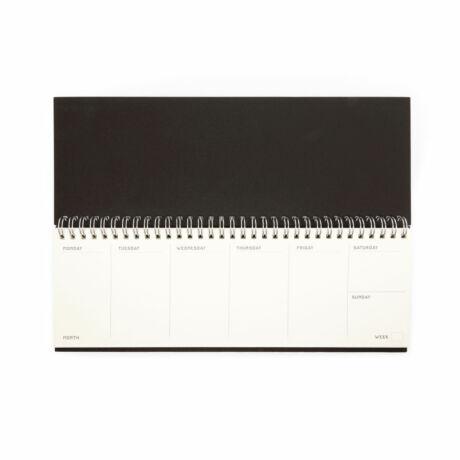 Writersblok billentyűzet méretű naptár