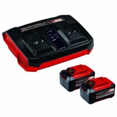 Einhell 2x 5,2Ah & Twincharger Kit (4512108)