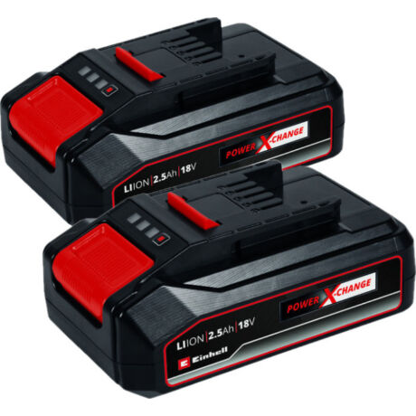 Einhell 2x 18V 2,5Ah PXC-Twinpack  2 db akkumulátor  (4511524)