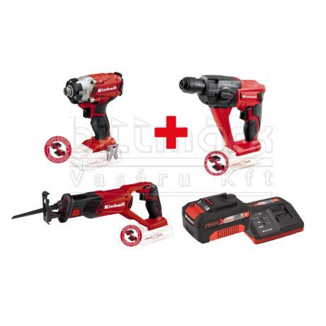 Einhell PXC szett13 TE-CI 18/1 Li Brushless + TE-HD 18 Li + TE-AP 18 Li + 3Ah starter kit (PXC13)