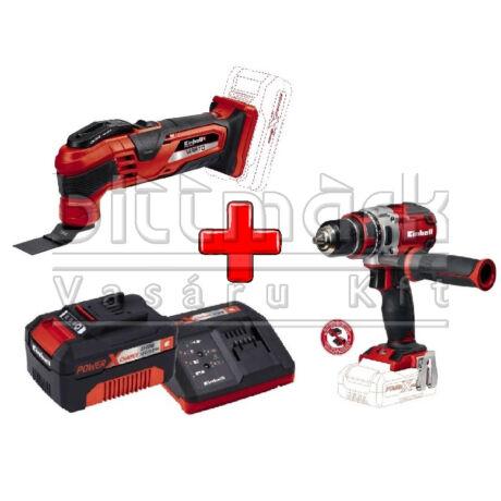 Einhell PXC szett17 TE-MG 18 Li S+ TE-CD 18 LI S Brushless + 3Ah Starter kit (pxc17)