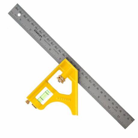 Stanley Kombinált fém derékszög acél csavar 300mm 2-46-028