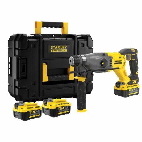 Stanley FatMax V20 akkumulátoros SDS-plus kombi fúrókalapács KEFE NÉLKÜLI (SFMCH900M22)