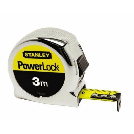 STANLEY 0-33-522 PowerLock mérőszalag 3m×19mm