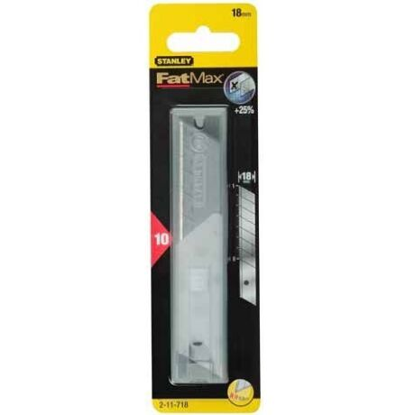 STANLEY 2-11-718 FatMax tördelhetőpenge 18mm 10db