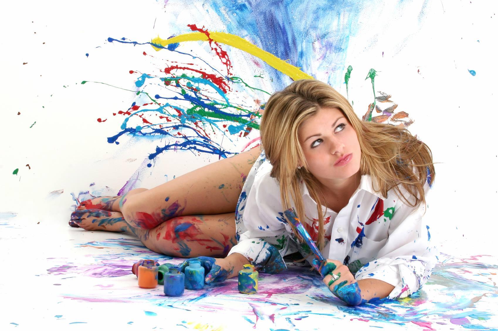 Festés, szobafestés, szobafestő, ecset, teddy henger